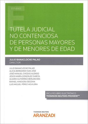 TUTELA JUDICIAL NO CONTENCIOSA PERSONAS MAYORES Y MENORES E