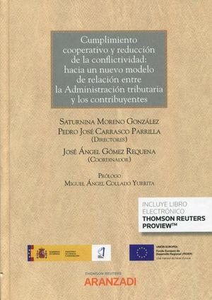 CUMPLIMIENTO COOPERATIVO Y REDUCCION DE LA CONFLICTIVIDAD: