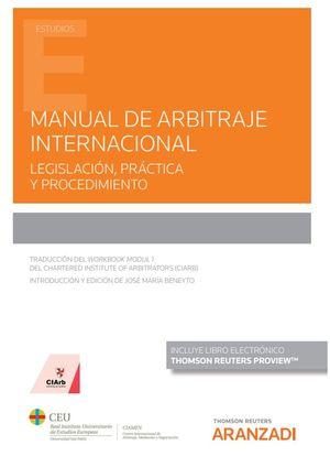 MANUAL DE ARBITRAJE INTERNACIONAL