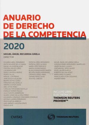 ANUARIO DE DERECHO DE LA COMPETENCIA 2020