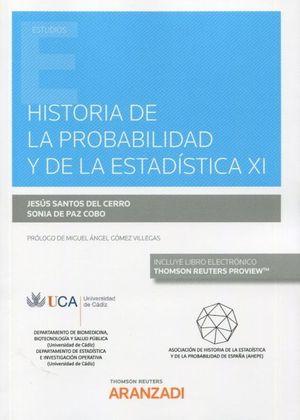 HISTORIA DE LA PROBABILIDAD Y DE LA ESTADISTICA XI