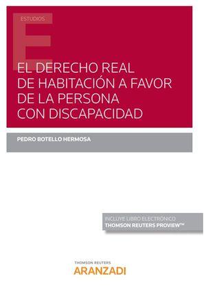 EL DERECHO REAL DE HABITACION A FAVOR DE LA PERSONA CON DISCAPACIDAD