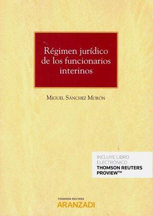 REGIMEN JURIDICO DE LOS FUNCIONARIOS INTERINOS