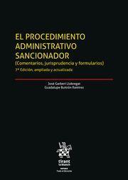 EL PROCEDIMIENTO ADMINISTRATIVO SANCIONADOR. (2 VOL.)