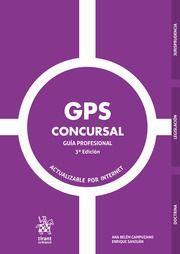 GPS CONCURSAL. GUÍA PROFESIONAL. 3ª ED.
