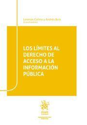 LOS LIMITES AL DERECHO DE ACCESO A LA INFORMACION PUBLICA