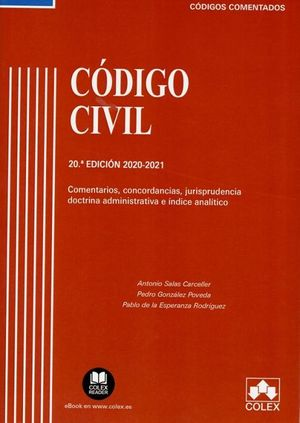 CÓDIGO CIVIL 2020-2021