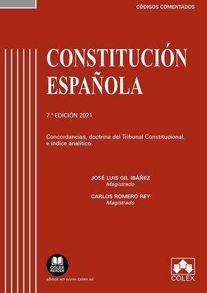 CONSTITUCION ESPAÑOLA - CODIGO COMENTADO