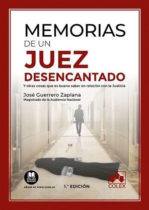 MEMORIAS DE UN JUEZ DESENCANTADO