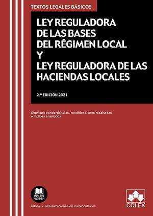 LEY REGULADORA BASES REGIMEN LOCAL LEY REGULADORA HACIENDAS