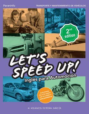 LETIS SPEED UP. INGLES PARA AUTOMOCION