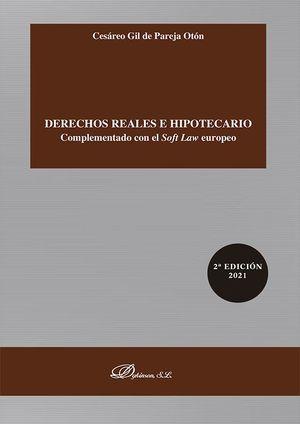 DERECHOS REALES E HIPOTECARIO