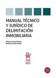 MANUAL TECNICO Y JURIDICO DE DELIMITACION INMOBILIARIA