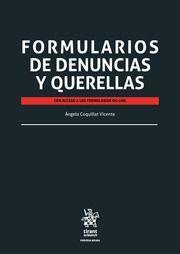 FORMULARIOS DE DENUNCIAS Y QUERELLAS