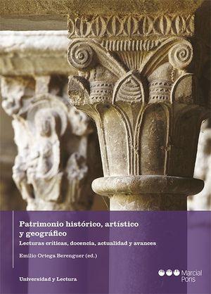 PATRIMONIO HISTÓTICO, ARTÍSTICO Y GEOGRÁFICO
