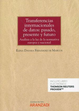 TRANSFERENCIAS INTERNACIONALES DE DATOS: