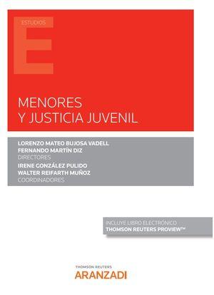 MENORES Y JUSTICIA JUVENIL