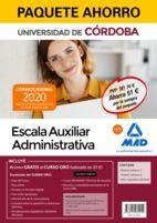 PAQUETE AHORRO ESCALA AUXILIAR ADMINISTRATIVA DE LA UNIVERSIDAD DE CÓRDOBA