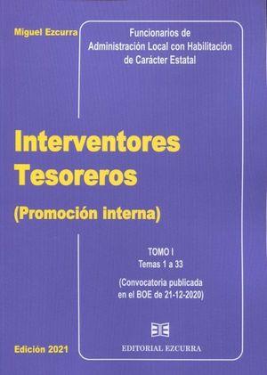 INTERVENTORES TESOREROS (PROMOCIÓN INTERNA) 2 VOLS.
