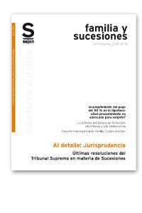 ÚLTIMA JURISPRUDENCIA DEL TRIBUNAL SUPREMO EN MATERIA DE SUCESIONES