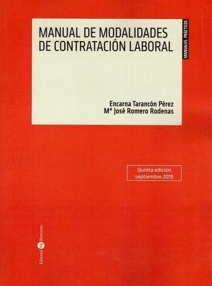 MANUAL DE MODALIDADES DE CONTRATACIÓN LABORAL