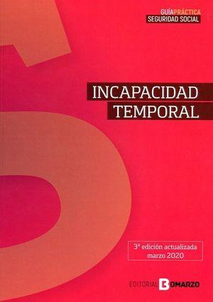 INCAPACIDAD TEMPORAL 2020