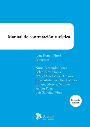 MANUAL DE CONTRATACIÓN TURÍSTICA