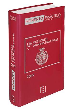 MEMENTO GESTORES ADMINISTRATIVOS 2019