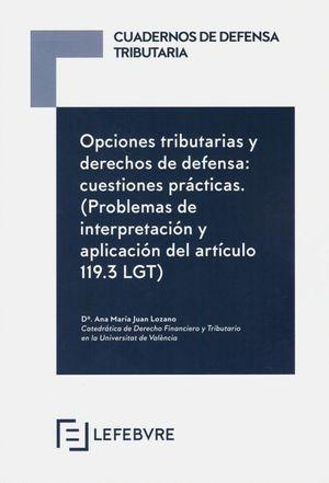 OPCIONES TRIBUTARIAS Y DERECHO DE DEFENSA