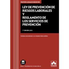 LEY DE PREVENCION DE RIESGOS LABORALES Y REGLAMENTO DE LOS SERVIC