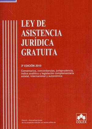 LEY DE ASISTENCIA JURIDICA GRATUITA