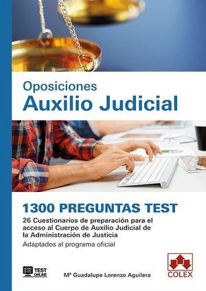 OPOSICIONES AUXILIO JUDICIAL. 1300 PREGUNTAS TEST