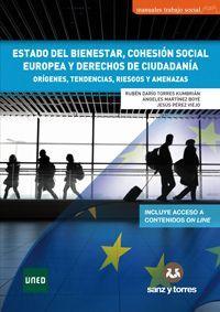 ESTADO DEL BIENESTAR, COHESIÓN SOCIAL EUROPEA Y DERECHOS DE CIUDADANÍA