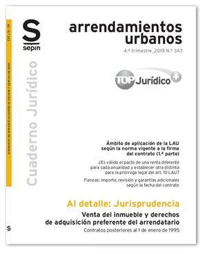 VENTA DEL INMUEBLE Y DERECHOS DE ADQUISICIÓN PREFERENTE DEL ARRENDATARIO