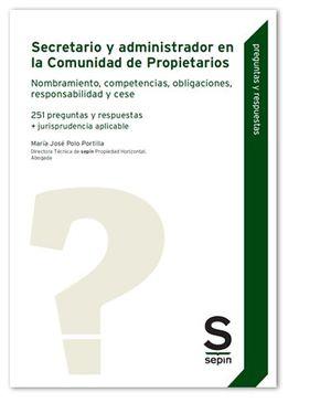 SECRETARIO Y ADMINISTRADOR EN LA COMUNIDAD DE PROPIETARIOS