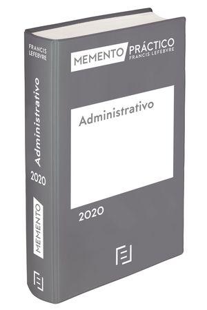 MEMENTO ADMINISTRATIVO 2020