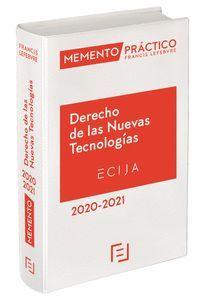 DERECHO DE LAS NUEVAS TECNOLOGÍAS 2020-2021