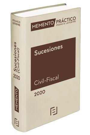 MEMENTO SUCESIONES CIVIL-FISCAL 2020