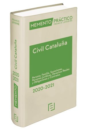 MEMENTO CIVIL CATALUÑA 2020-2021