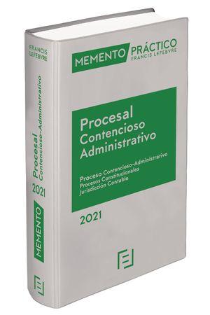 MEMENTO PROCESAL CONTENCIOSO-ADMINISTRATIVO 2021