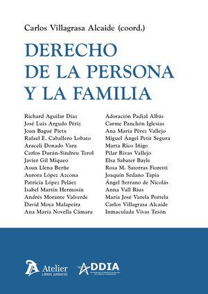 DERECHO DE LA PERSONA Y LA FAMILIA