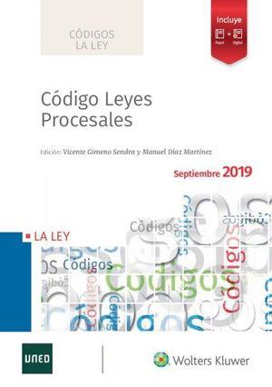 CODIGO LEYES PROCESALES 2020