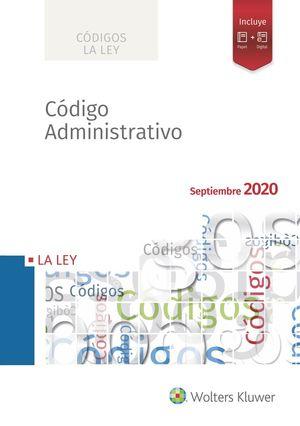 CODIGO ADMINISTRATIVO 2020