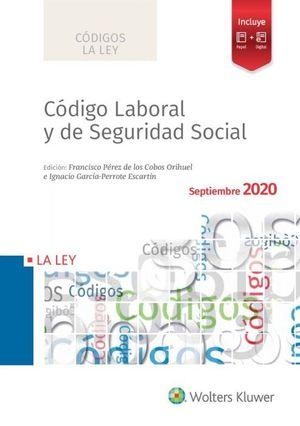 CODIGO LABORAL Y DE SEGURIDAD SOCIAL 2020