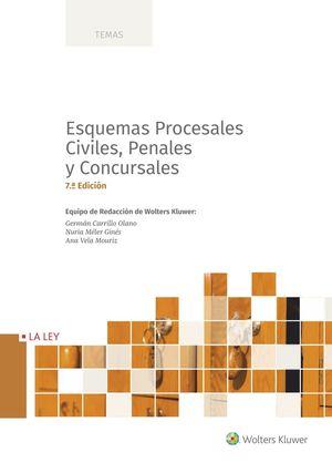 ESQUEMAS PROCESALES CIVILES, PENALES Y CONCURSALES