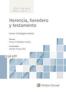 HERENCIA, HEREDERO Y TESTAMENTO