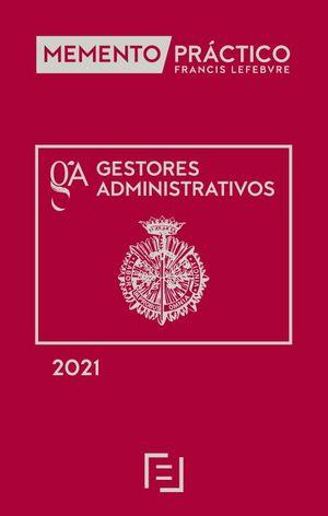 MEMENTO PRÁCTICO GESTORES ADMINISTRATIVOS 2021