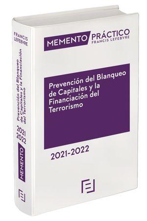 MEMENTO PRÁCTICO. PREVENCIÓN BLANQUEO DE CAPITALES