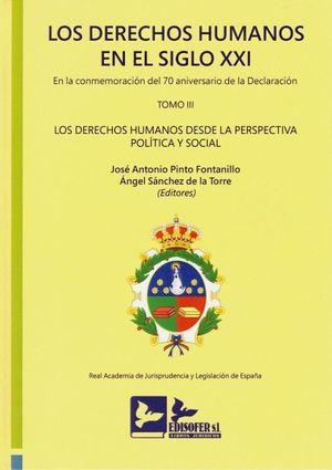LOS DERECHOS HUMANOS EN EL SIGLO XXI. TOMO III