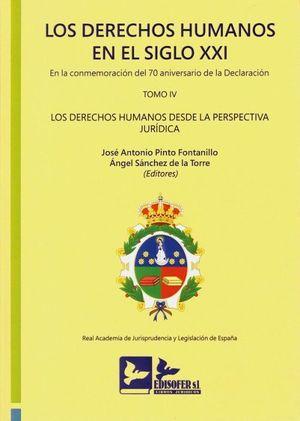 LOS DERECHOS HUMANOS EN EL SIGLO XXI. TOMO IV